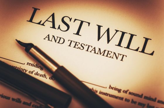 Your Will & Testament